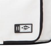Lee Cooper PU Flight Bag - кожена чанта с презрамка за преносими компютри до 13 инча (бяла) 4