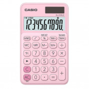 Casio SL310UC-PK 10 Digit Calculator (pink)