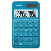 Casio SL310UC-BU 10 Digit Calculator (blue)