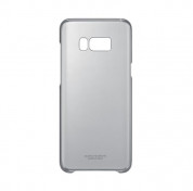 Samsung Clear Cover Case EF-QG955CBEGWW - оригинален TPU кейс за Samsung Galaxy S8 Plus (прозрачен-черен)(bulk) 4