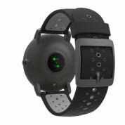 Withings Steel HR Sport (40mm) - луксозен умен часовник, следящ сърдечния ритъм, дневната и нощната ви физическа активност (бял-черен) 2
