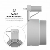 Elago Google WiFi Outlet Wall Mount - силиконова поставка за Google WiFi (бяла) 5