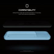 Elago R2 Slim Case - удароустойчив силиконов калъф за Apple TV Siri Remote (бял-фосфоресциращ) 1