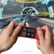 Elago R2 Slim Case - удароустойчив силиконов калъф за Apple TV Siri Remote (червен) 2
