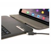 Griffin Turnfolio Keyboard Case - безжична клавиатура (отделяща се), кейс и поставка за iPad Air 2 10