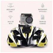 Tecplus 4K Action Camera - 4К екшън камера за заснемане на любимите ви моменти (сребрист) 4