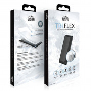 Eiger Tri Flex High Impact Film Screen Protector - качествено защитно покритие за дисплея на Samsung Galaxy A9 (2018) (два броя) 2