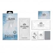 Eiger 3D Glass Full Screen Tempered Glass Screen Protector - калено стъклено защитно покритие с извити ръбове за целия дисплей на Google Pixel 3 (черен-прозрачен) 7