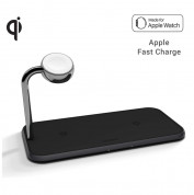 Zens Aluminium Dual Apple Watch 10W Wireless Charger ZEDC05B/00 1