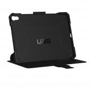 Urban Armor Gear Metropolis Folio Case - удароустойчив хибриден кейс от най-висок клас за iPad Pro 11 (2018) (черен) 2
