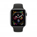 Apple Watch Series 4, 44mm Space Gray Aluminum Case with Gray Sport Band - умен часовник от Apple 2