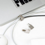 Maclocks Slim Lock with peripheral cable security