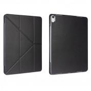 Torrii Torrio Plus Case - кожен кейс и поставка с отделение за Apple Pencil за iPad Pro 11 (2018) (черен) 4