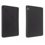 Torrii Torrio Plus Case - кожен кейс и поставка с отделение за Apple Pencil за iPad Pro 11 (2018) (черен) 1
