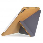Torrii Torrio Plus Case - кожен кейс и поставка с отделение за Apple Pencil за iPad Pro 11 (2018) (кафяв) 5