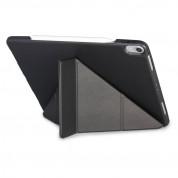 Torrii Torrio Plus Case - кожен кейс и поставка с отделение за Apple Pencil за iPad Pro 12.9 (2018) (черен) 4