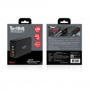 Torrii TorriiBolt 5 Ports Quick Charge 3.0, 63W 5-Port USB Wall Charger (black) 2