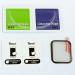 Torrii BodyGlass - калено стъклено защитно покритие с извити ръбове за дисплея на Apple Watch Series 4 (40mm) (черен-прозрачен) 4