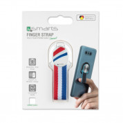 4smarts Loop-Guard Finger Strap Netherlands (бял) 2