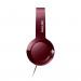 Philips Bass+ SHL3075RD On-Ear Headphones - слушалки с микрофон за мобилни устройства с 3.5 мм стерео-жак (червен) 4