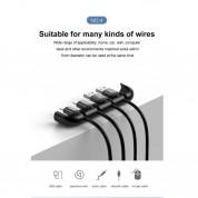 Baseus Auxiliary for Film & Cable Bundle - органайзер за кабели и помощник при поставянето на стъклени протектори за iPhone 11, iPhone XR 10