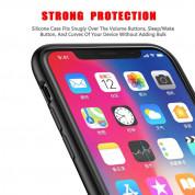 Baseus Original LSR Case - силиконов (TPU) калъф за iPhone XS (черен) 4