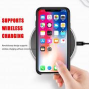 Baseus Original LSR Case - силиконов (TPU) калъф за iPhone XS Max (черен) 6