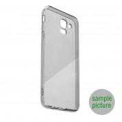 4smarts Soft Cover Invisible Slim - тънък силиконов кейс за Huawei Y6 (2018) (черен)