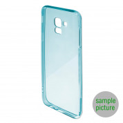 4smarts Soft Cover Invisible Slim - тънък силиконов кейс за Nokia 2.1 (син) 3