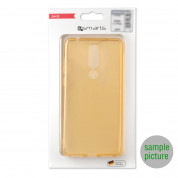 4smarts Soft Cover Invisible Slim - тънък силиконов кейс за Samsung Galaxy J6 Plus (златист) 4