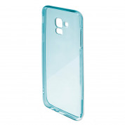 4smarts Soft Cover Invisible Slim - тънък силиконов кейс за Samsung Galaxy A7 (2018) (син) 2