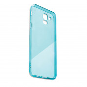 4smarts Soft Cover Invisible Slim - тънък силиконов кейс за Samsung Galaxy A7 (2018) (син) 1