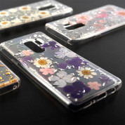 4smarts Soft Cover Glamour Bouquete for Samsung Galaxy S9 Plus (transparent-white) 1