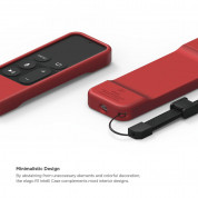 Elago R1 Intelli Case for Apple TV Siri Remote (red)  2