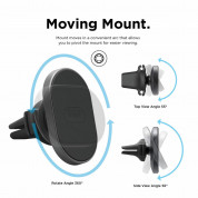 Elago Hexa Magnetic Aluminum Car Mount for smart phones (black) 2