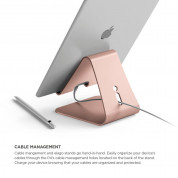 Elago P4 Stand (Silver) for iPad & Tablet PC (rose gold) 6