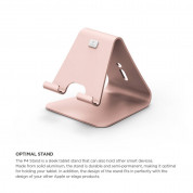 Elago P4 Stand (Silver) for iPad & Tablet PC (rose gold) 1