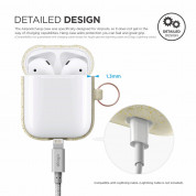 Elago Airpods Silicone Hang Case (nightglow gold) 3