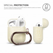 Elago Airpods Silicone Hang Case (nightglow gold) 1