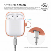 Elago Airpods Silicone Hang Case (orange) 6