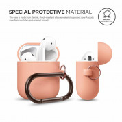 Elago Airpods Silicone Hang Case (orange) 1