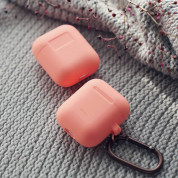 Elago Airpods Silicone Hang Case (orange) 4