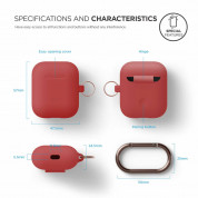 Elago Airpods Silicone Hang Case (orange) 2