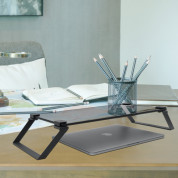 Macally Tempered Glass Monitor Stand 7