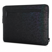 Incase Compact Sleeve in Reflective Mesh - качествен калъф за MacBook Pro Touch Bar 15 и лаптопи до 15.4 инча (черен) 1