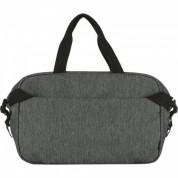 Incase City Duffel - сак за пътуване с отделение за MacBook Pro 15 и лаптоти до 15.4 инча (черен-сив) 3
