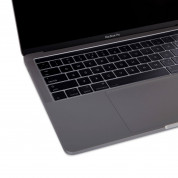 Moshi ClearGuard MB with Touch Bar - силиконов протектор за клавиатурата на MacBook Pro 13 и 15 с Touch Bar (прозрачен) (EU layout) 3