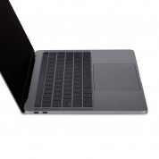 Moshi ClearGuard MB with Touch Bar - силиконов протектор за клавиатурата на MacBook Pro 13 и 15 с Touch Bar (прозрачен) (EU layout) 2