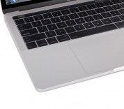 Moshi ClearGuard MB with Touch Bar - силиконов протектор за клавиатурата на MacBook Pro 13 и 15 с Touch Bar (прозрачен) (EU layout) 5