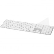 Moshi ClearGuard MK Keyboard Protector - силиконов протектор за Apple Magic Keyboard with Numeric Keypad (прозрачен) (US layout) 1